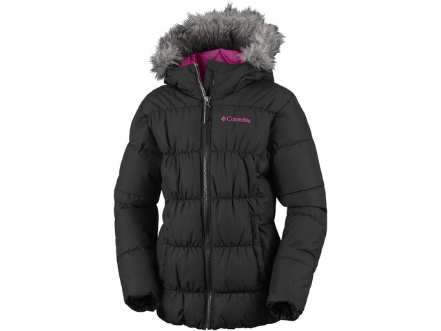 Columbia Gyroslope Jacket Kinder black/cactus pink